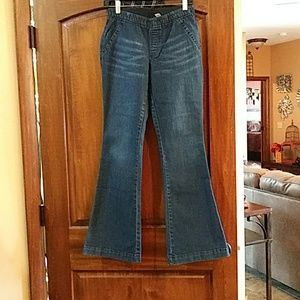 Chico's pull on jeans